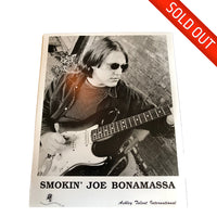 RARE Joe Bonamassa Headshot Hand-Signed by Joe!