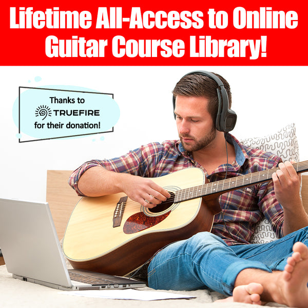 Unlimited Life-Long Access to Online Guitar Course Library from Truefire!