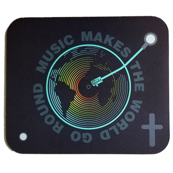 Music Makes The World Go Round Mousepad