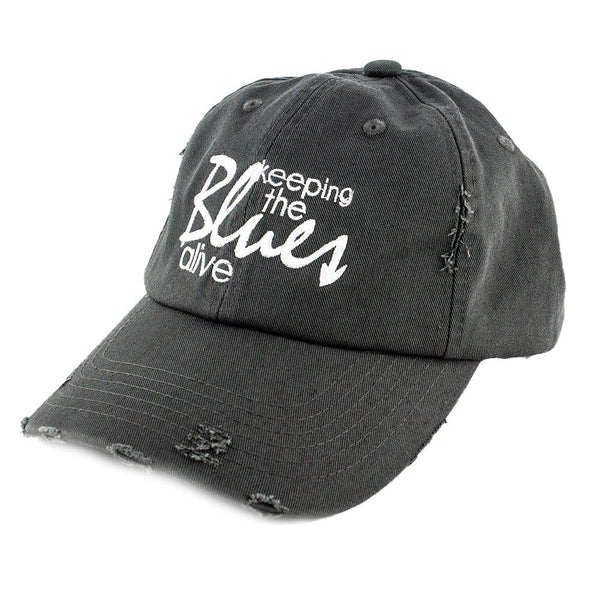 Keeping the Blues Alive Logo Hat Nickel