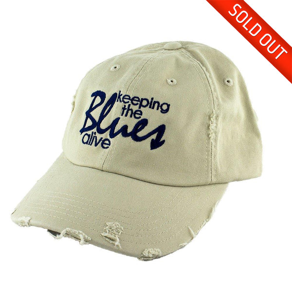 Keeping the Blues Alive Logo Hat Stone