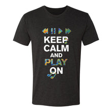 Load image into Gallery viewer, Keep Calm & Play On T-Shirt (Unisex)