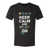 Keep Calm & Play On T-Shirt (Unisex)