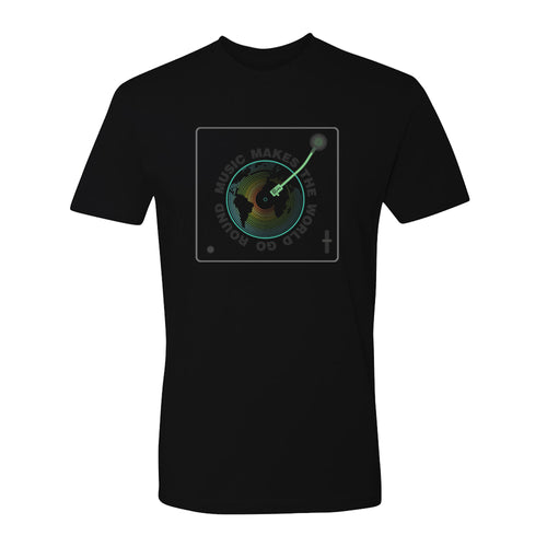 Music Makes the World Go Round T-Shirt (Unisex)