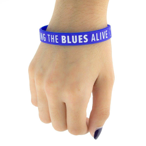 Keeping the Blues Alive Wristband