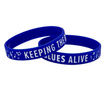 Load image into Gallery viewer, Keeping the Blues Alive Wristband