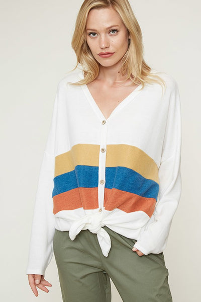 Oversized Heather Long Sleeve