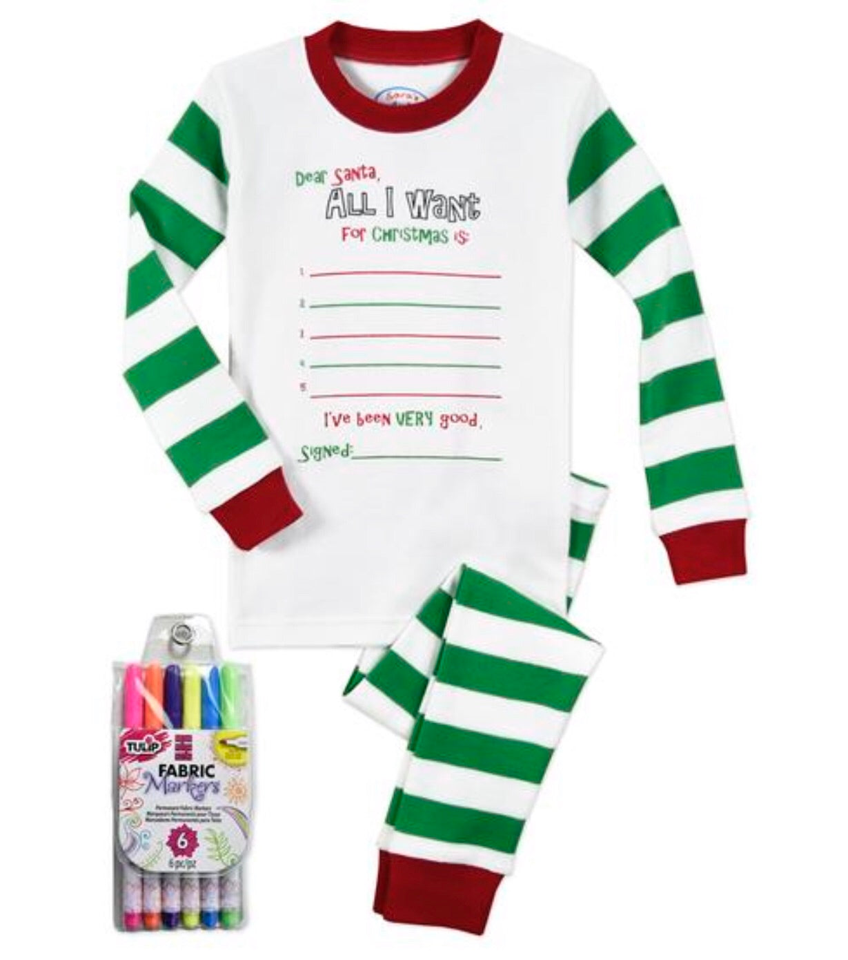 Color Me PJs: All I want for Christmas