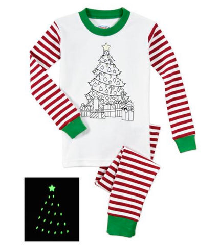 Color Me PJs: Christmas tree