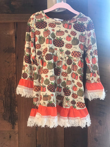 Fall Lacey Dress Toddler