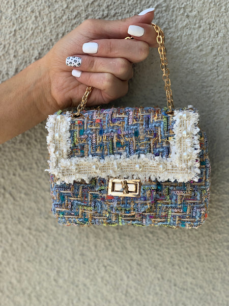 Mini designer inspired handbag