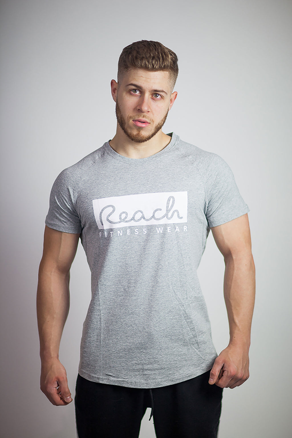 Classic T-Shirt 1.0 - Grey - Reach Fitness Wear