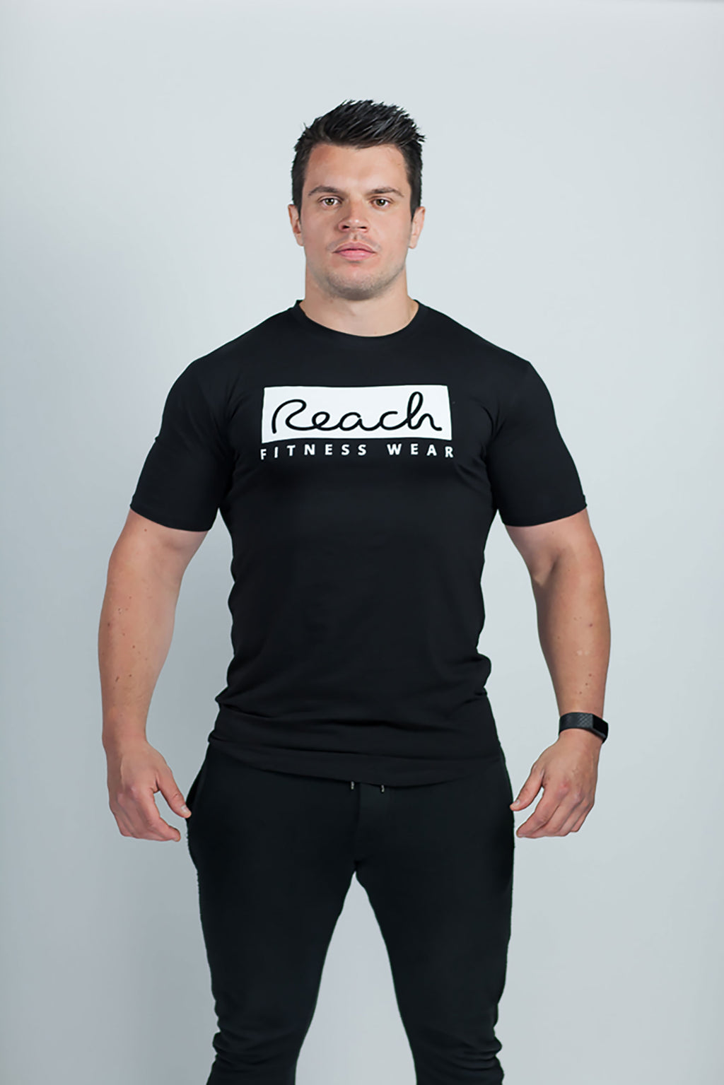 Classic T-Shirt 2.0 - Black - Reach Fitness Wear