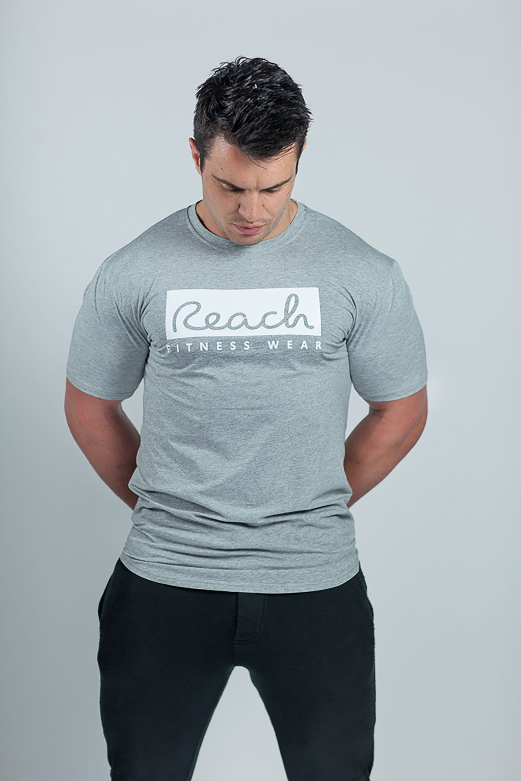 Classic T-Shirt 2.0 - Grey - Reach Fitness Wear