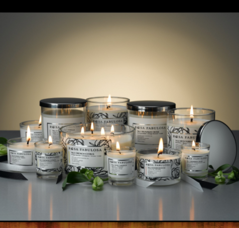LUXURY HANDMADE NATURAL WAX CANDLES