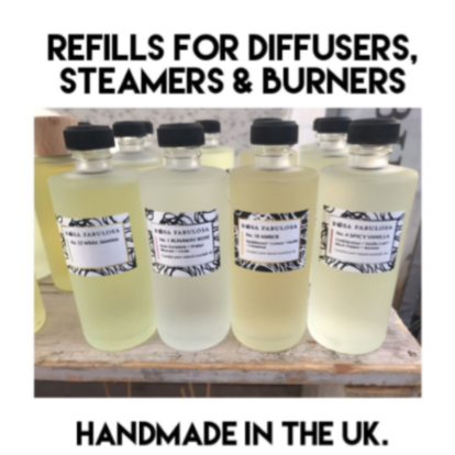REFILLS - for Diffusers, Steamers, & Burners