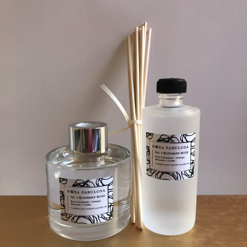 No 1. RUNAWAY ROSE scent - Fresh Floral