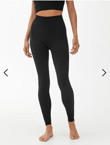 Arket high waist Yogapants made from recycled polyamide
