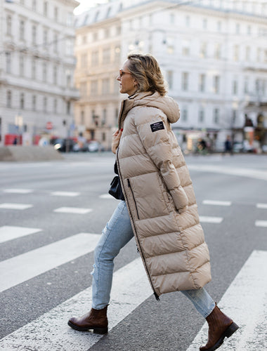 ECOALF Coat, made from recycled plastic
