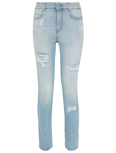 STELLA MCCARTNEY Distressed Skinny Jeans
