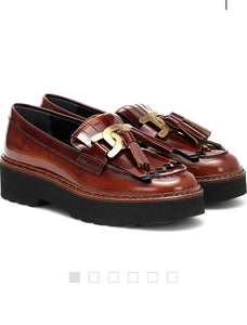 TOD'S Kate leather loafer