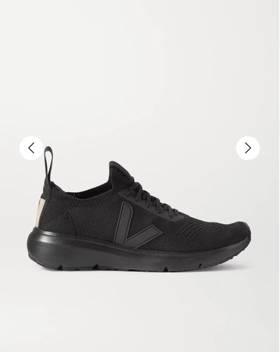 RICK OWENS x VEJA knitted trainers