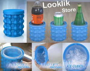 FAST ICE CUBE MAKER GENIE