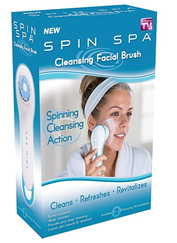 Spin Spa Facial Cleansing Scrub