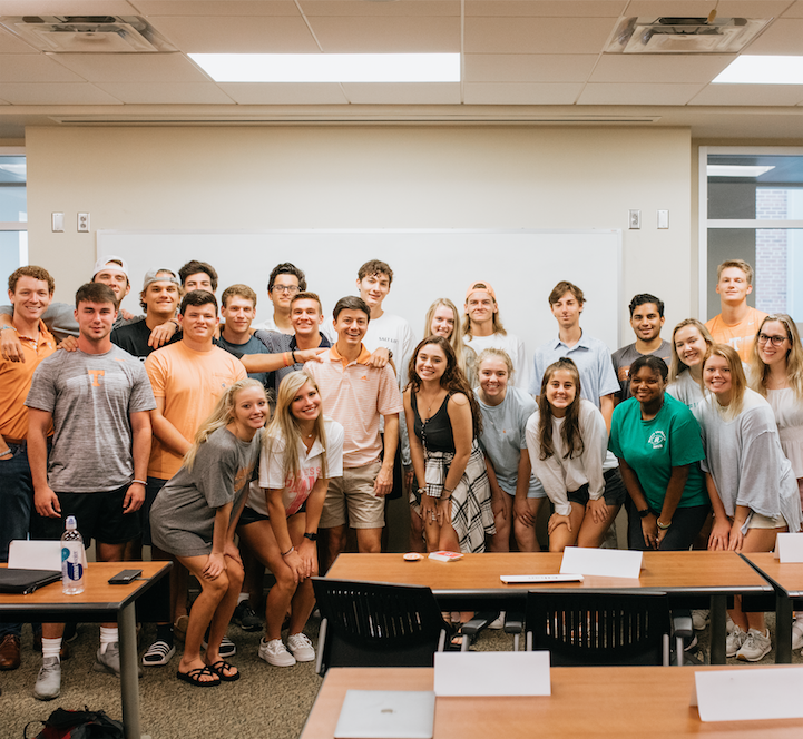 BACK TO SCHOOL AT UT: HOW ON CAMPUS CONVERSATIONS ABOUT ENTREPRENEURSHIP CULTIVATE AND INSPIRE