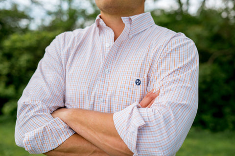 Volunteer Traditions Tattersall Button Down