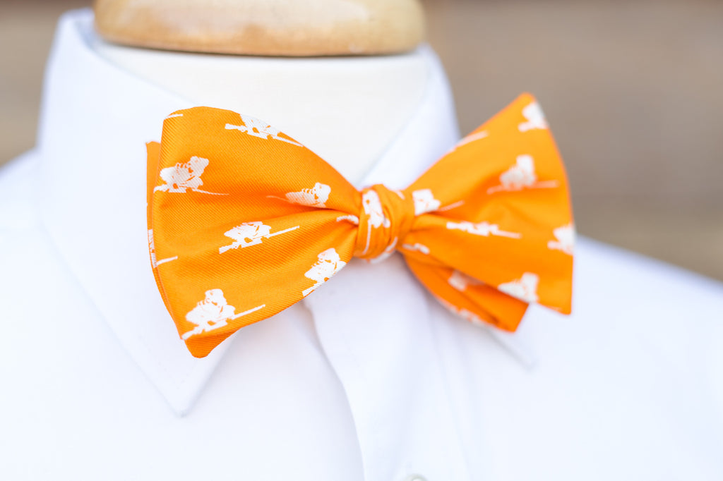 Orange, University of Tennessee Rifleman Bow Tie, Vols