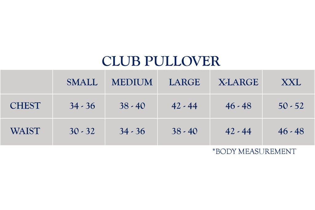 Bluetick Club Pullovers