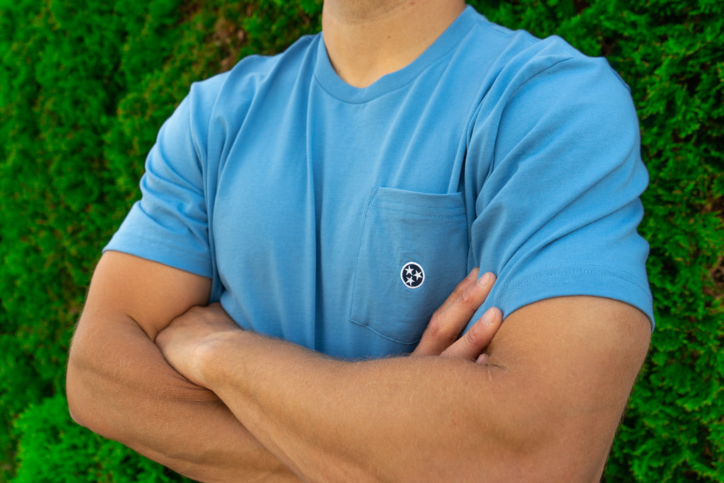 Tristar Embroidered Pocket Tees