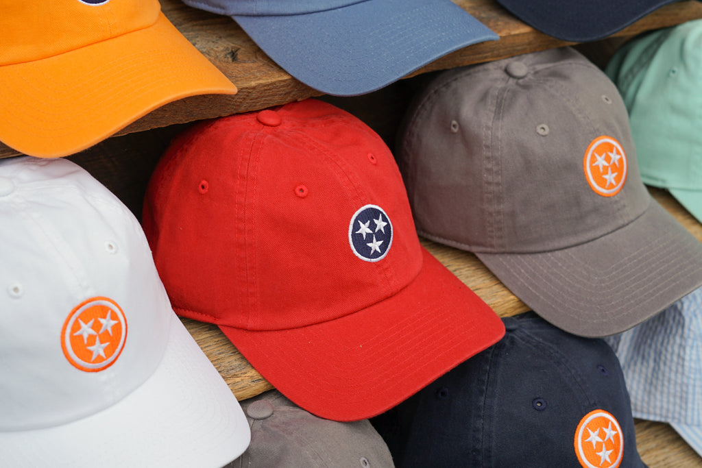 Volunteer Traditions Tennessee Tristar Hats.