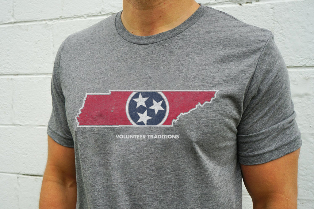 TN Outline Triblend Tees