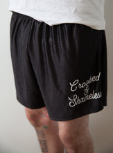 Load image into Gallery viewer, Crooked n shameless shorts