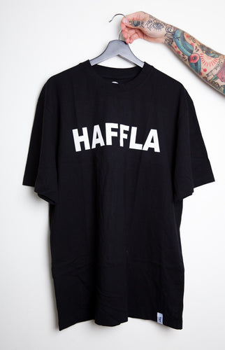 Haffla black tall tee