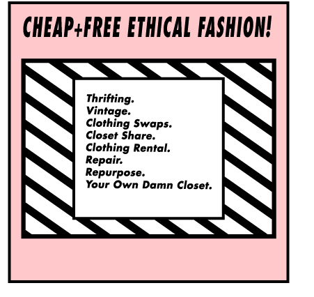 8 Ways To Afford Ethical Fashion