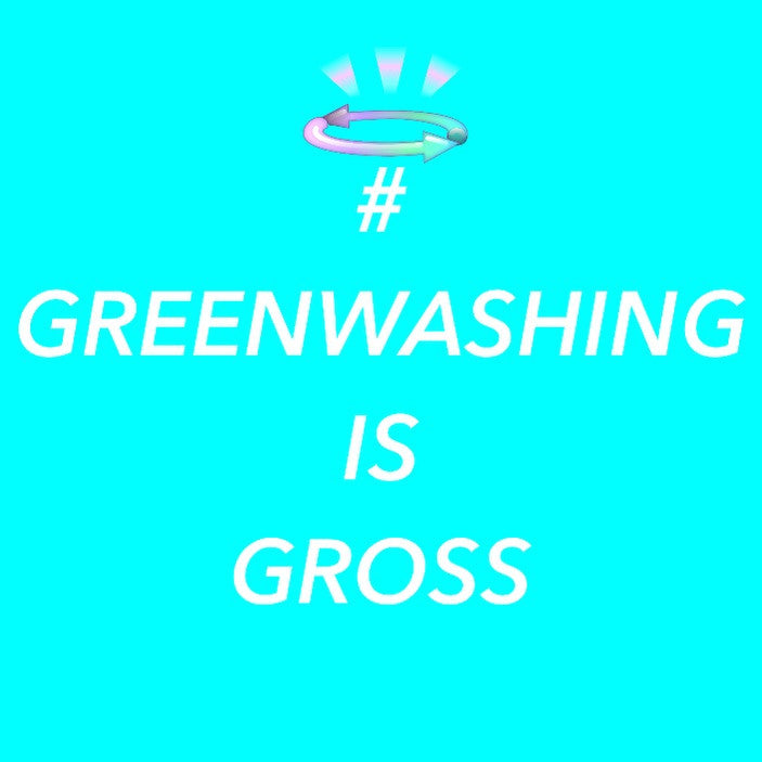 #GreenwashingIsGross Campaign (& a List of Alternative Clothing Recycling Programs to H&M's)