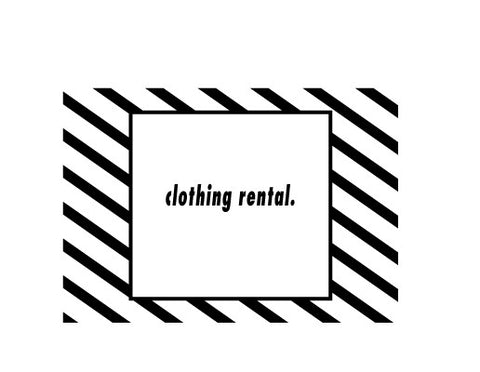 Clothing Rental