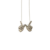 Carli Marie Sita Clueless Pendant - 10K Gold, Rose Gold or Sterling Silver