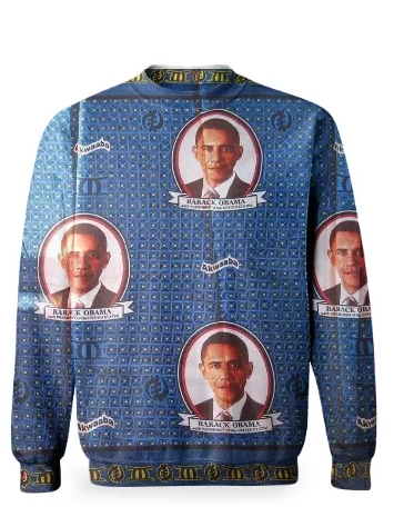 Obama Mr President Sweatshirt