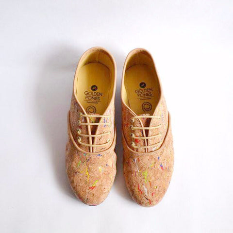 Cork Oxford Shoes