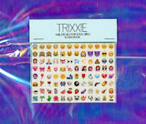 Trixxie SO EMOJIONAL nail decals pack#1 - set of 96 decals