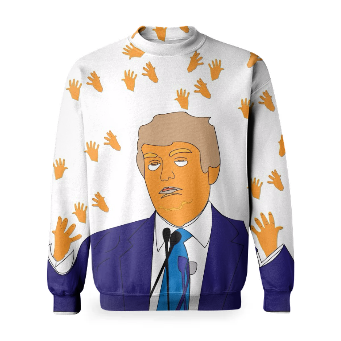 Orange Man, Tiny Hands Sweatshirt