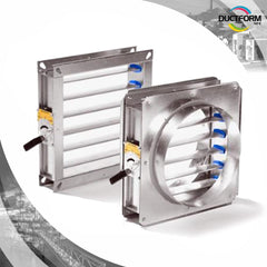Volume Control Dampers - Circular and Rectangular