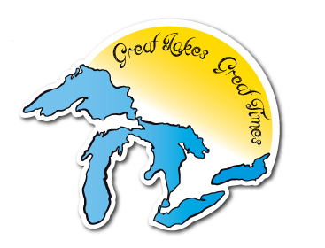 Great Lakes Great Times Die Cut Decal