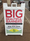 2' x 3' A-Frame Sidewalk Signs - 2 Signs Included!