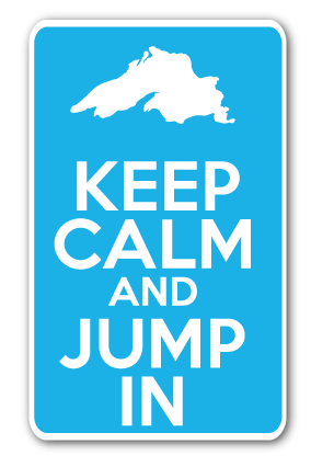 Keep Calm and Jump in Decal