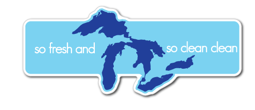 So Fresh and So Clean Clean Great Lakes Decal